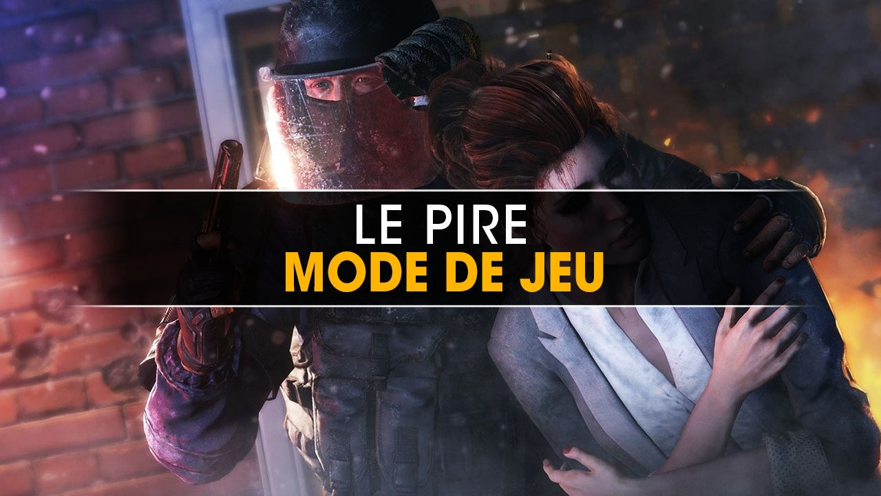 le pire mode de jeu sur rainbow six siege youtube. Black Bedroom Furniture Sets. Home Design Ideas
