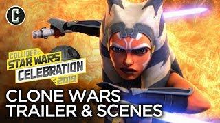 Star Wars: The Clone Wars Season 7 Exclusive Scenes & Trailer Review - Star Wars Celebration 2019
