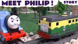 Thomas and Friends Trackmaster Philip Toy Train | Juguetes de Thomas Y Sus Amigos | Toy Unboxing