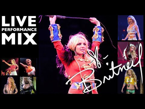 Britney Spears - Live Performance Mega Mix
