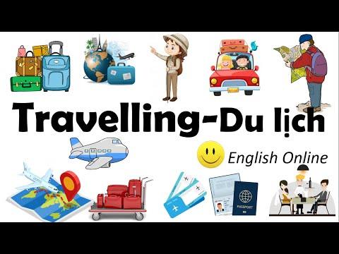 Từ Vựng Tiếng Anh Chủ Đề Du Lịch/ Travel/English Online