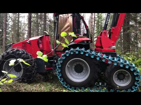 Real thinning harvester