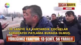 Kayseri'de 13 Şehit 56 Yaralı!