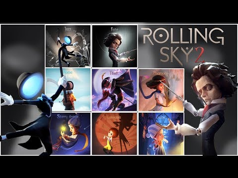 Rolling Sky 2 All Levels 2019 Update | SHAvibe