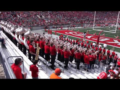 Ohio State Athletic Band Hang On Sloopy at Spring Game 4 18 2015