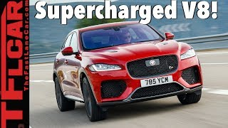 Here is Your Sneak Peek at the Baddest Jaguar SUV: The 2019 F-Pace SVR