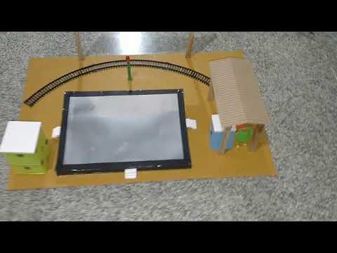 Smart Railway Station - Energy from platform free