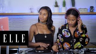 How to DJ with QF Angel and Dren   ELLE