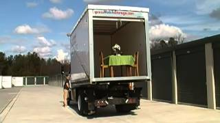Storage World on Wheels - Mobile Storage Unit Lifts Full Table Setting