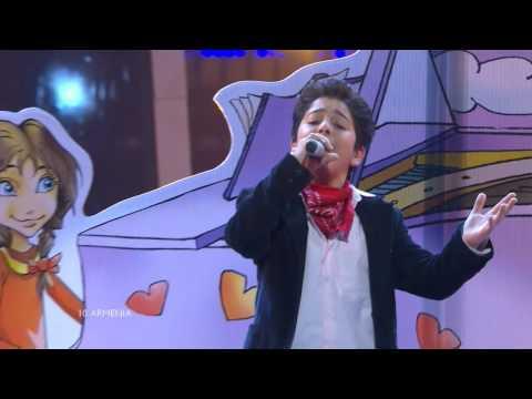 Junior Eurovision 2010: Vladimir Arzumanyan - Mama (Armenia)