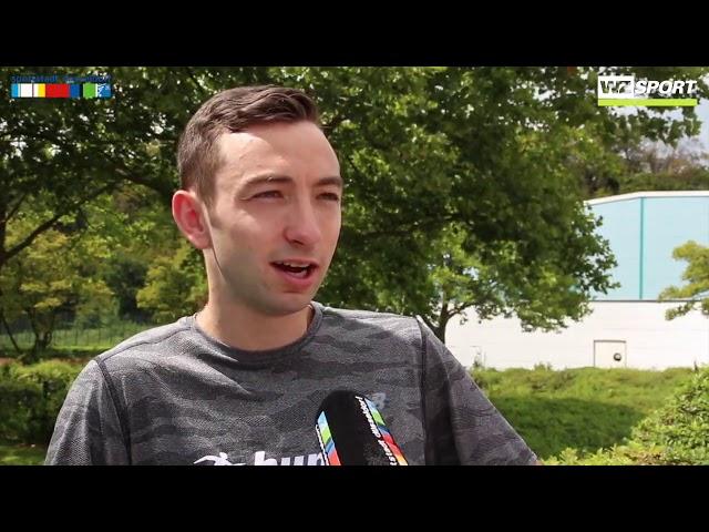 Maximilian Thorwirth ist bereit für die Deutschen Leichtathletik Meisterschaften