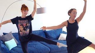 Meine Mama gibt mir Ballett Unterricht 😅