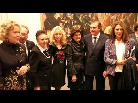 Prestigious Constantinian Order & Two Sicilies Royal House Exhibition in Paris