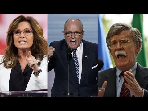 """Genuinely Terrifying Prospect"": Greenwald on Palin, Giuliani & Bolton Serving in Trump"