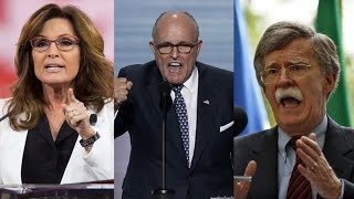 """""""Genuinely Terrifying Prospect"""": Greenwald on Palin, Giuliani & Bolton Serving in Trump's Cabinet thumbnail"""