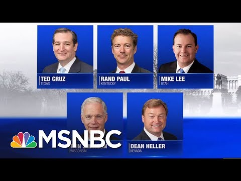 Senate Could Vote On Healthcare This Week | AM Joy | MSNBC
