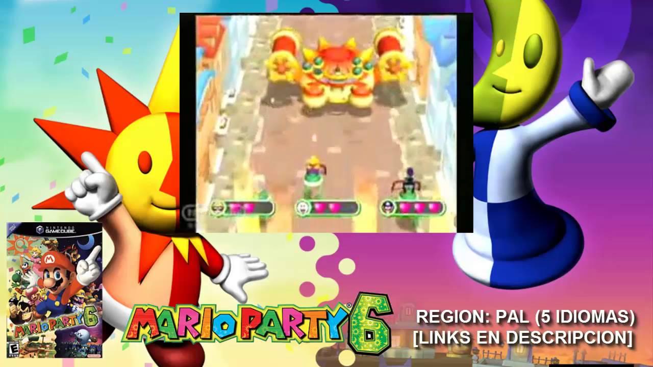 [NGC] Mario Party 6【ISO PAL 5 IDIOMAS】(MEGA)