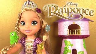 Poupée Raiponce à Coiffer Chantante Et Lumineuse Coiffure de Princesse Disney