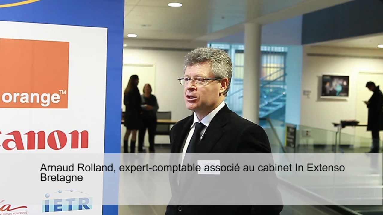 Interview d\'Arnaud Rolland du cabinet In Extenso Bretagne - YouTube