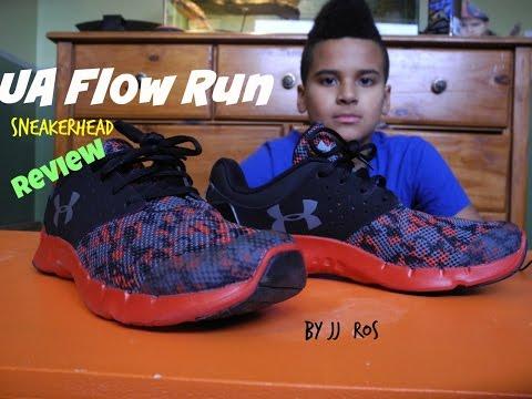 Sneaker Head Review UA Flow Run