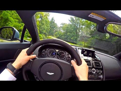 My First Time Driving An Aston Martin! 2015 Aston Martin Vantage GT ...