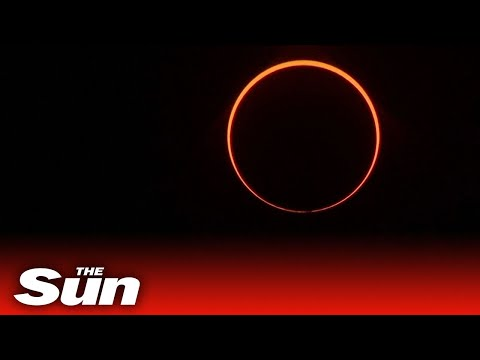 'Ring Of Fire' Solar Eclipse Sees Millions Turn Out Across Asia For Spectacular Christmas Sky