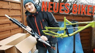 Mein NEUES DOWNHILL BIKE + GIVEAWAY!
