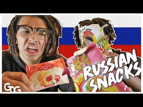 Dreadheads Try Russian Candy