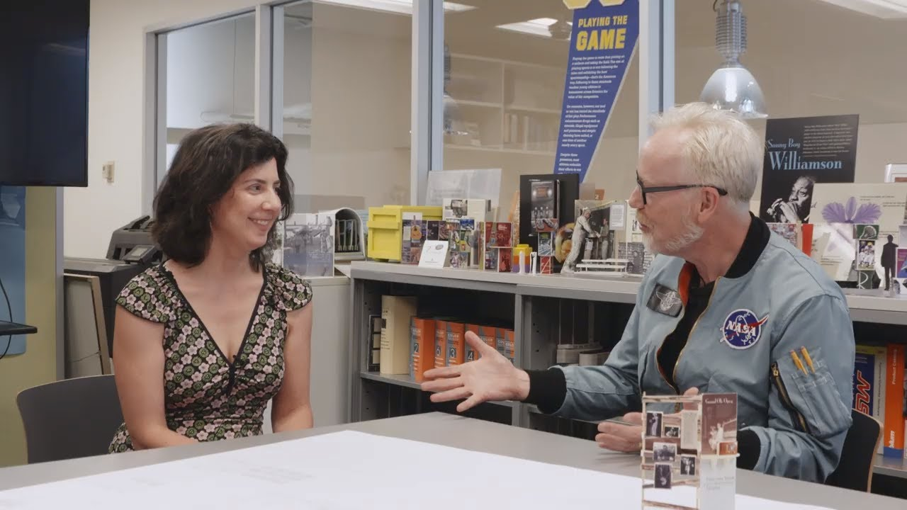 Adam Savage Meets a Smithsonian Exhibit Designer!