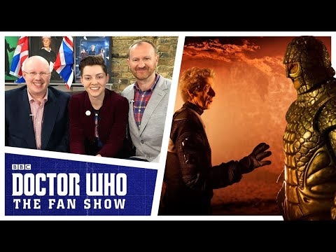 Matt Lucas and Mark Gatiss - The Aftershow - Doctor Who: The Fan Show