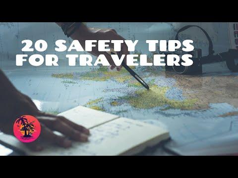 20 Safety Tips for Travelers – Travel, Safety, advice, life hacks, Travelers, Flying, Money belt