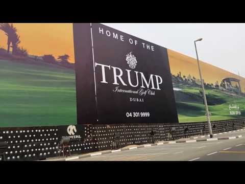 Trump International Golf Club at Damac Hills in Dubai 13.02.2017