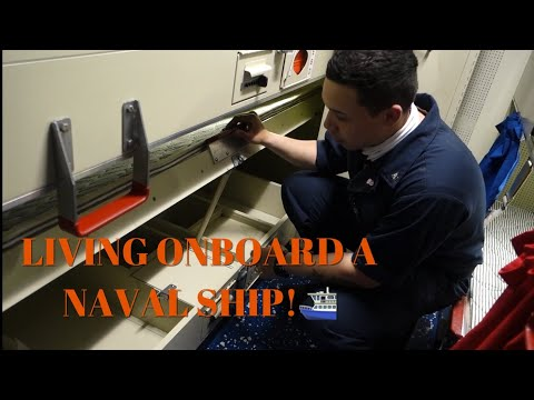 NAVY LIFE | WHAT LIVING ONBOARD A NAVY SHIP IS LIKE!