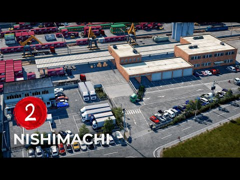 Freight Terminal Entrance - Cities Skylines: Westdale Japan - EP 02