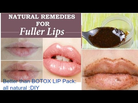 how to get fuller lips naturally permanently