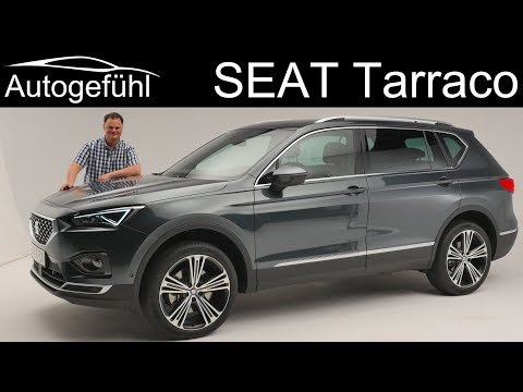 Seat Tarraco REVIEW Premiere all-new SUV Exterior Interior – Autogefühl