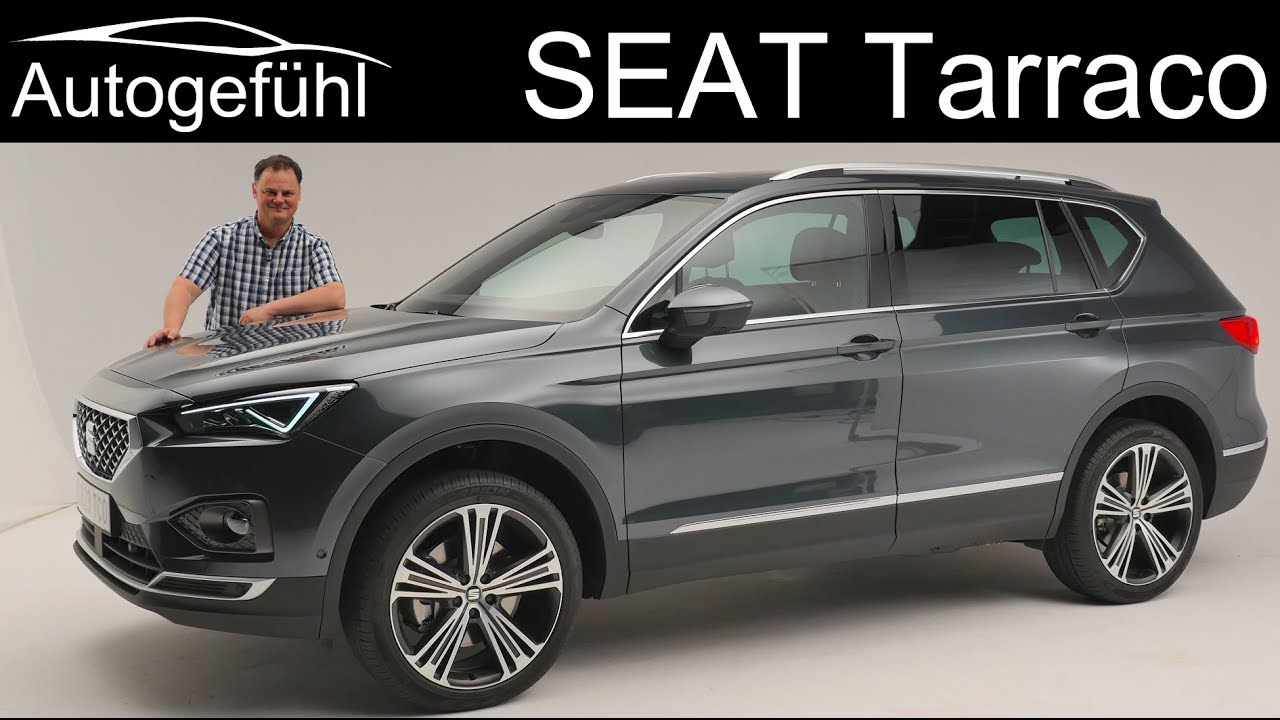 seat tarraco review premiere all new suv exterior interior. Black Bedroom Furniture Sets. Home Design Ideas