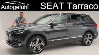 Seat Tarraco Review Premiere All-New Suv Exterior Interior - Autogefühl