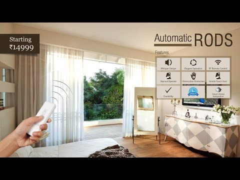 Automatic Curtain Rod from DecoWindow