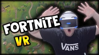 Fortnite + Virtual Reality = AMAZING *Must Watch 😱 ( Fortnite PS VR & Vbucks Giveaway )