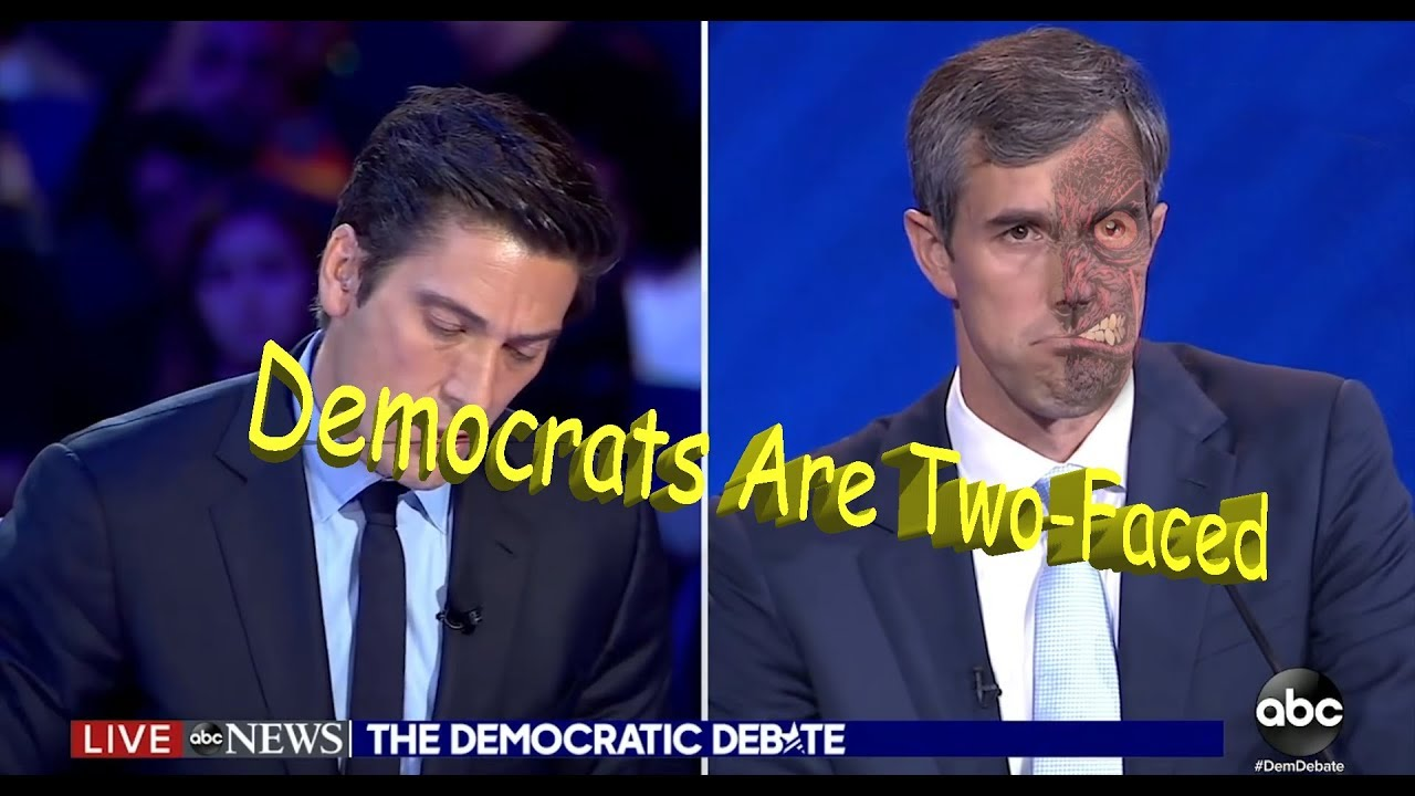 Image result for two faced Democrats