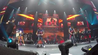 si tú la ves Nicky Jam ft Wisin concierto