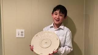 Jonah's Seder Plate