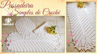Como Fazer uma Linda Passadeira de Crochê