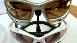 557caec7a1 oakley occhiali RACING JACKET - YouTube