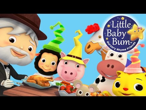 There Was a Crooked Man | Nursery Rhymes | By LittleBabyBum!