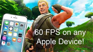Como obter 60 FPS no Fortnite Mobile (IOS 12.3/12.3.1)