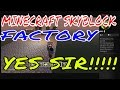 Minecraft Skyblock Factory ps4 3
