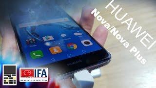 Huawei представила новинки: Nova и Nova Plus