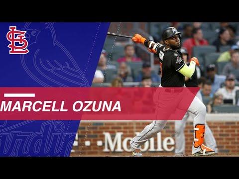 Watch Ozuna's Highlights With Miami